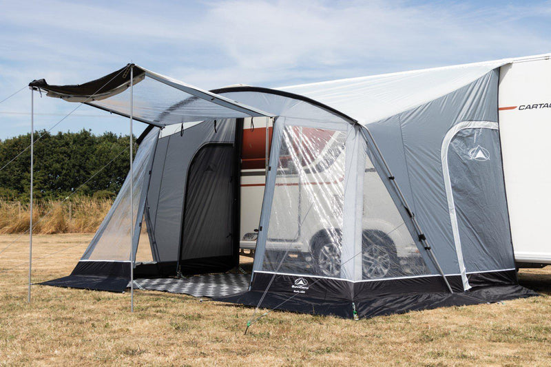 Sunncamp Swift Deluxe 390 - 2020 | Poled Awning-Sunncamp-Campers and Leisure