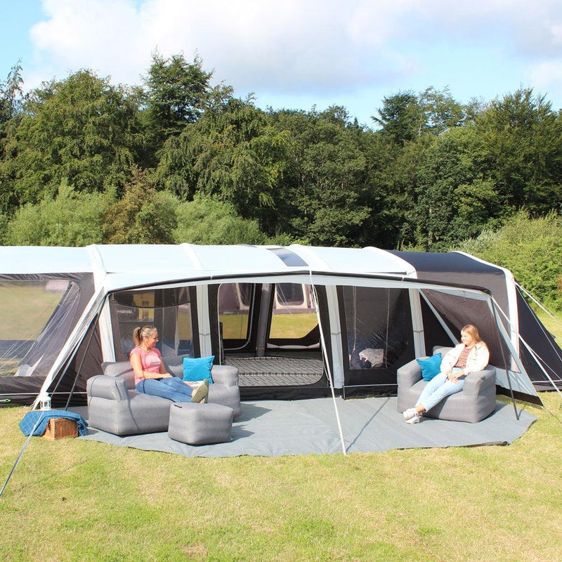 Ozone 6.0 XTR Safari Side Veranda Canopy-Outdoor Revolution-Campers and Leisure