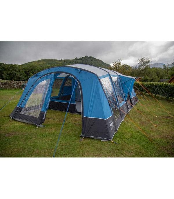 Vango Valencia Air - 2021 | 6+2 Man Family Air Tent Package Deal | Includes Carpet and Footprint Groundsheet-Vango-Campers and Leisure