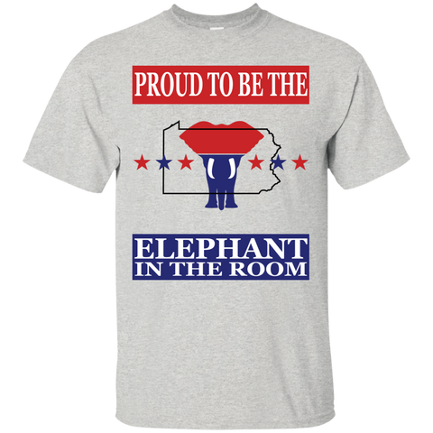 Pennsylvania PROUD Elephant (Unisex) T-Shirt