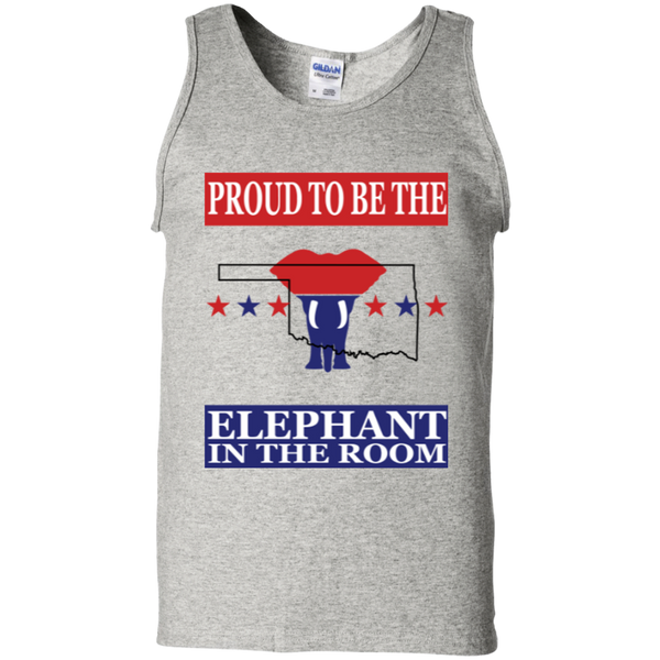 Oklahoma PROUD Elephant in the Room Men's Tank