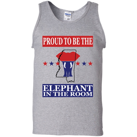 Mississippi PROUD Elephant in the Room Men's Tank
