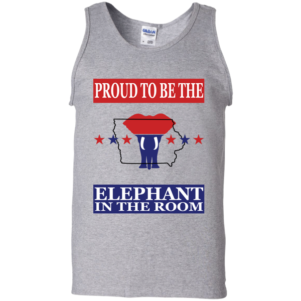 Iowa PROUD Elephant in the Room Men's Tank
