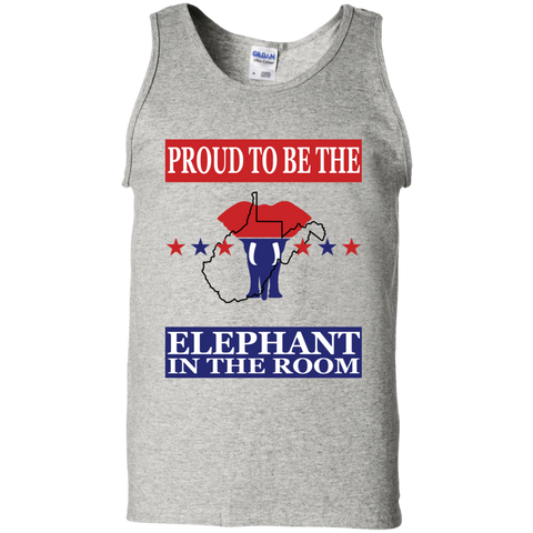 West Virginia PROUD Elephant Men's Tank