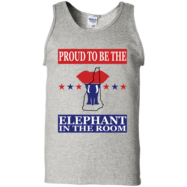 New Hampshire PROUD Elephant in the Room Men's Tank