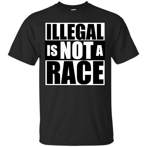 Illegal is NOT a Race (Unisex) T-shirt