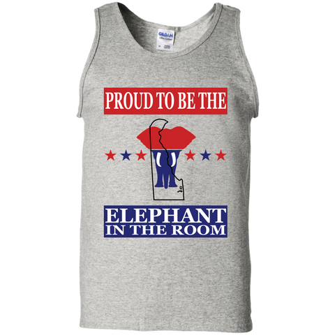 Delaware PROUD Elephant in the Room Men's Tank