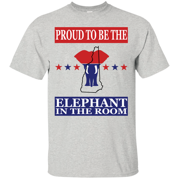New Hampshire PROUD Elephant in the Room (Unisex) T-shirt