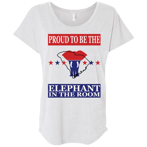 South Carolina PROUD Elephant in the Room (Relaxed) Ladies' T-shirt
