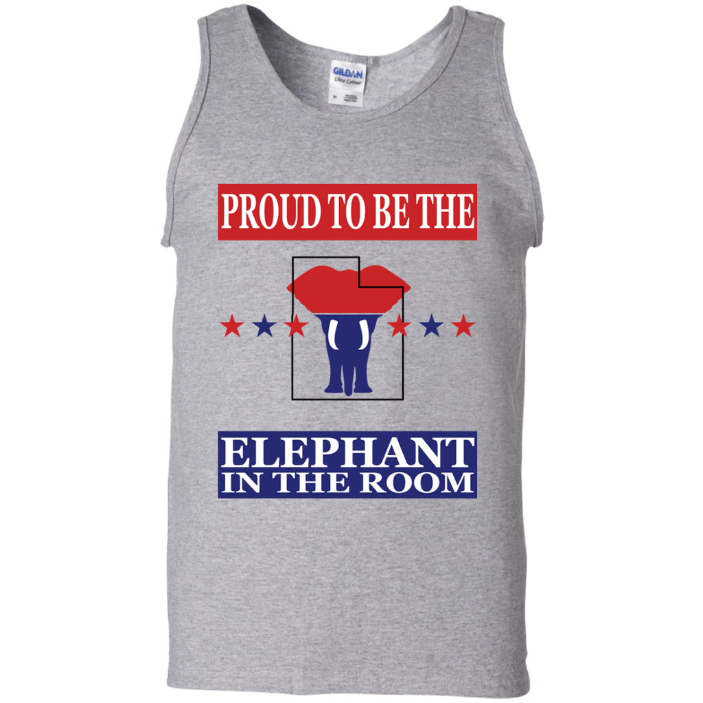 Utah PROUD Elephant in the Room Men's Tank