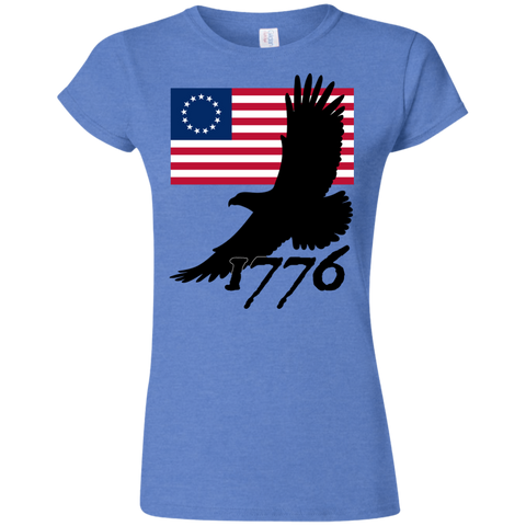 1776 (Fitted) Ladies' T-shirt