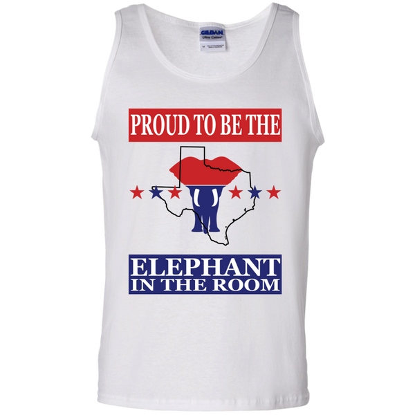 Texas PROUD Elephant in the Room Men's Tank
