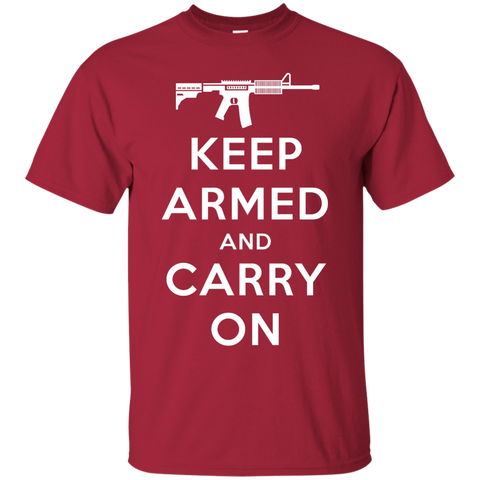 Keep Armed and Carry On AR-15 (Unisex) T-shirt