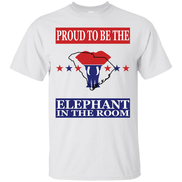 South Carolina PROUD Elephant in the Room (Unisex) T-shirt