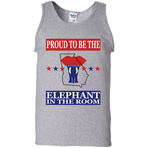 Georgia PROUD Elephant in the Room Men's Tank