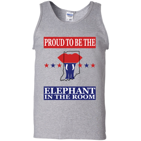 Indiana PROUD Elephant in the Room Men's Tank
