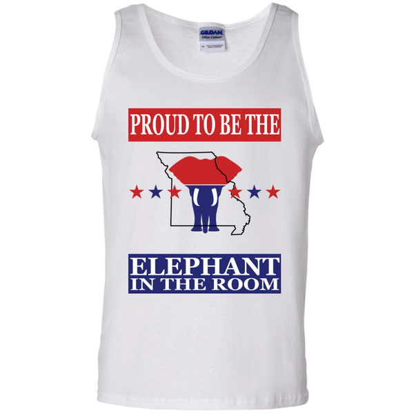 Missouri PROUD Elephant in the Room Men's Tank