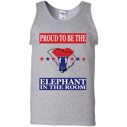 South Carolina PROUD Elephant in the Room Men's Tank