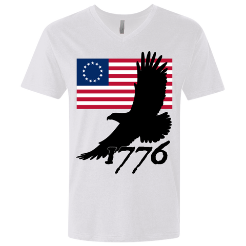 1776 Men's V-neck T-shirt