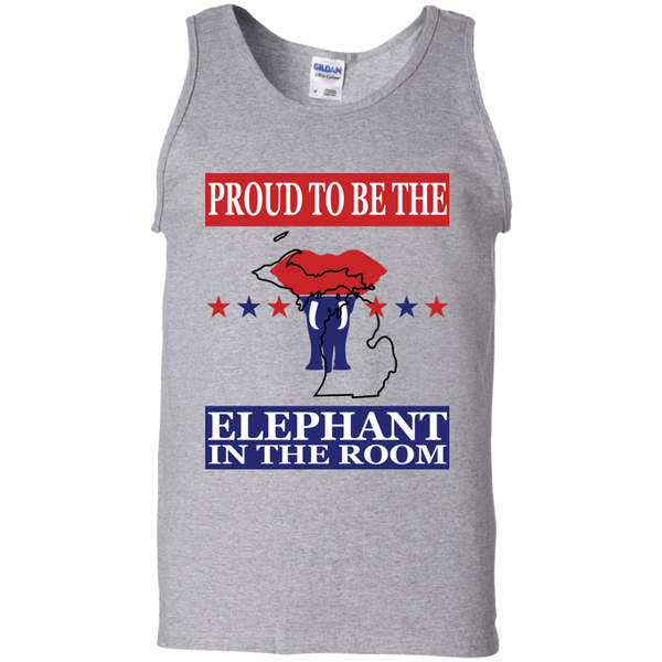 Michigan PROUD Elephant in the Room Men's Tank