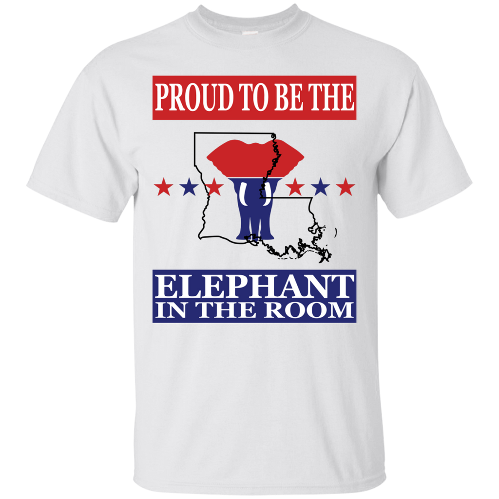 Louisiana PROUD Elephant in the Room (Unisex) T-shirt