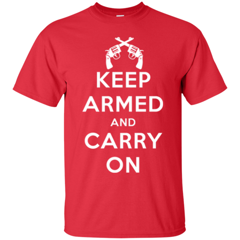 Keep Armed and Carry On Pistols (Unisex) T-shirt