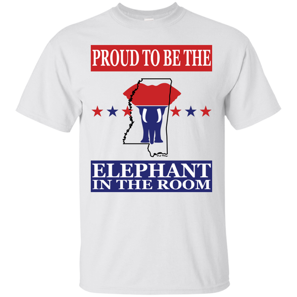 Mississippi PROUD Elephant in the Room (Unisex) T-shirt