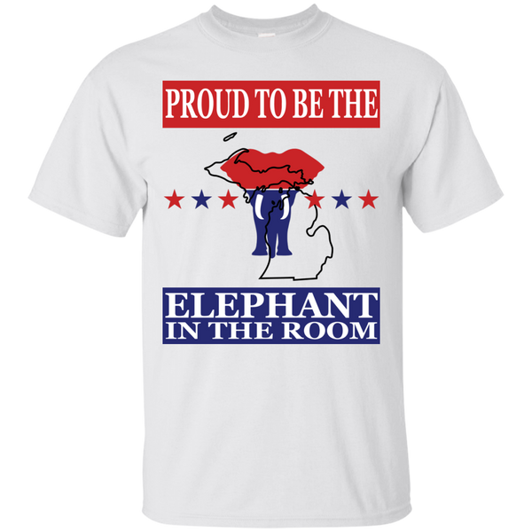 Michigan PROUD Elephant in the Room (Unisex) T-shirt