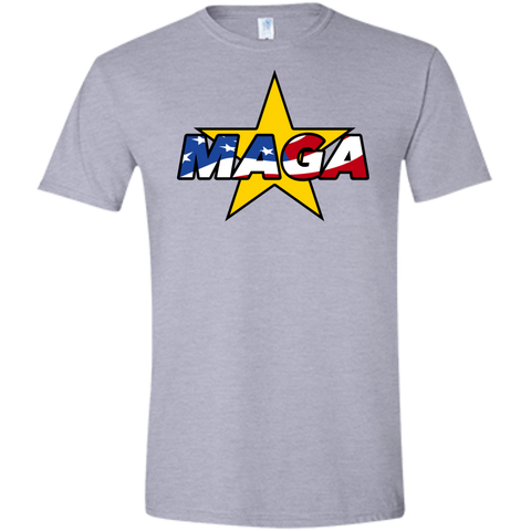 (Fitted) MAGA USA Men's T-Shirt