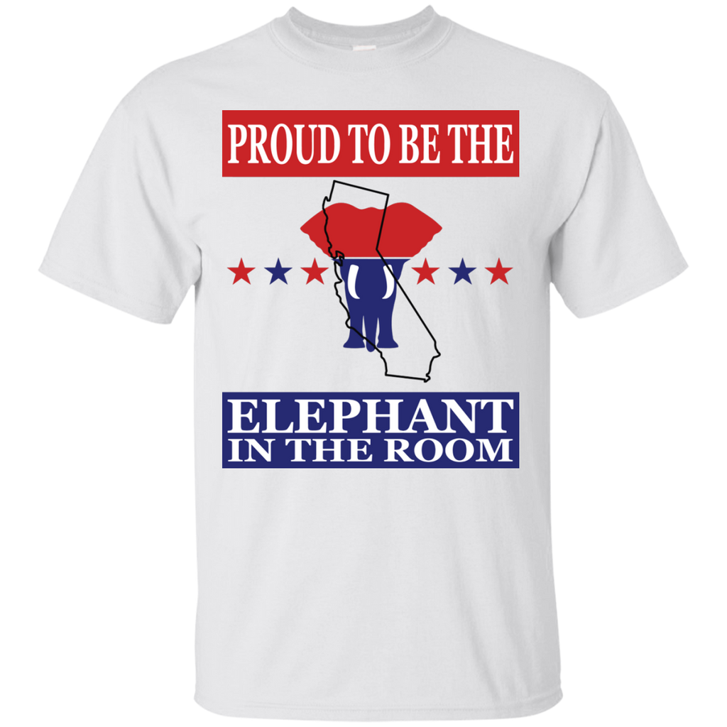 California PROUD Elephant in the Room (Unisex) T-shirt