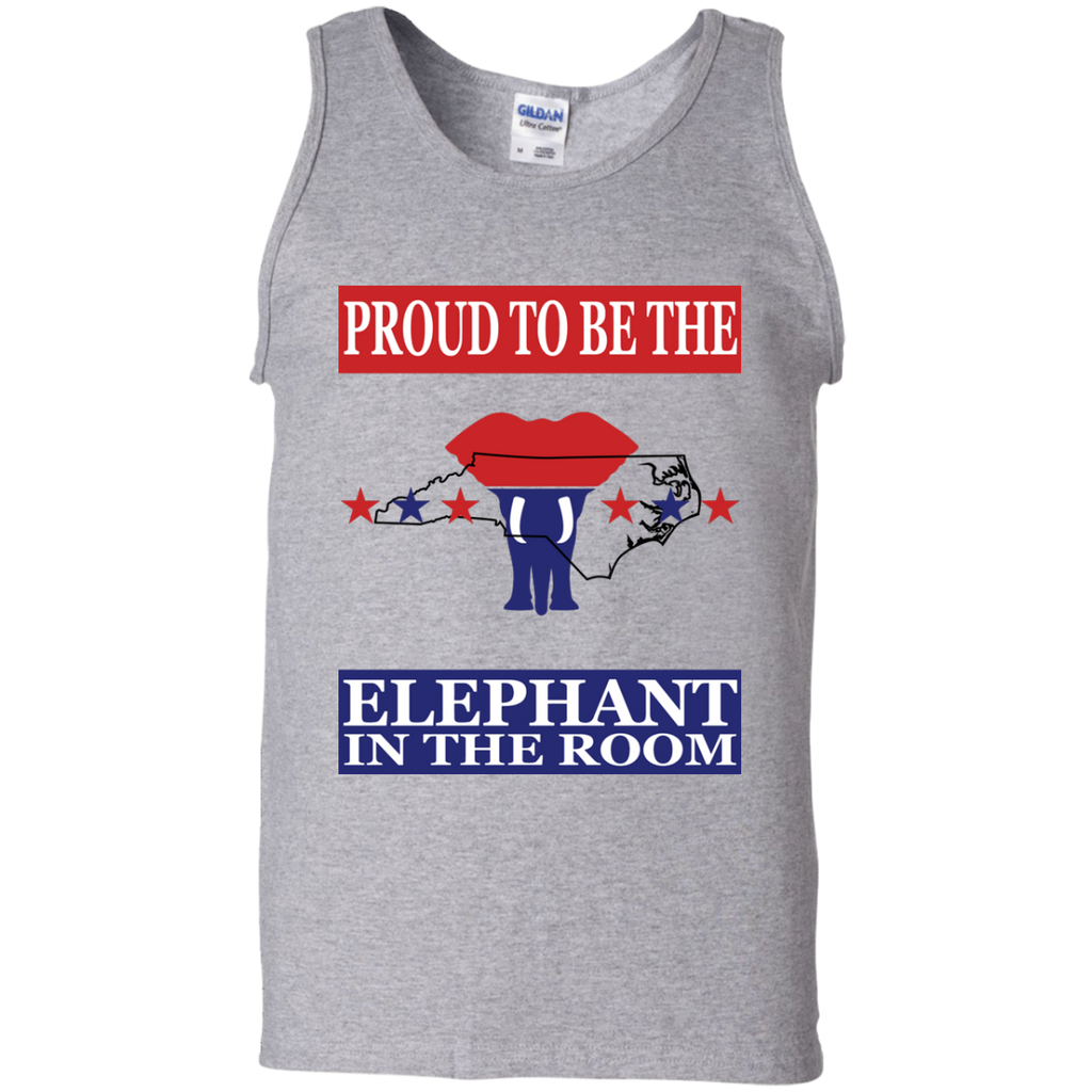 North Carolina PROUD Elephant in the Room Men's Tank