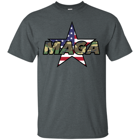 (Unisex) MAGA Camo-Forest Men's T-shirt