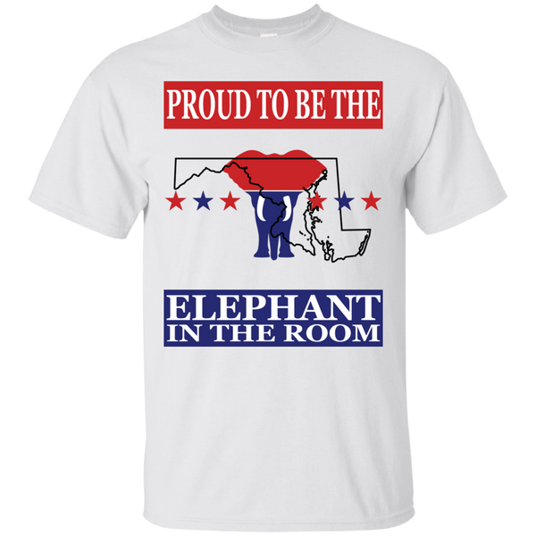 Maryland PROUD Elephant in the Room (Unisex) T-shirt