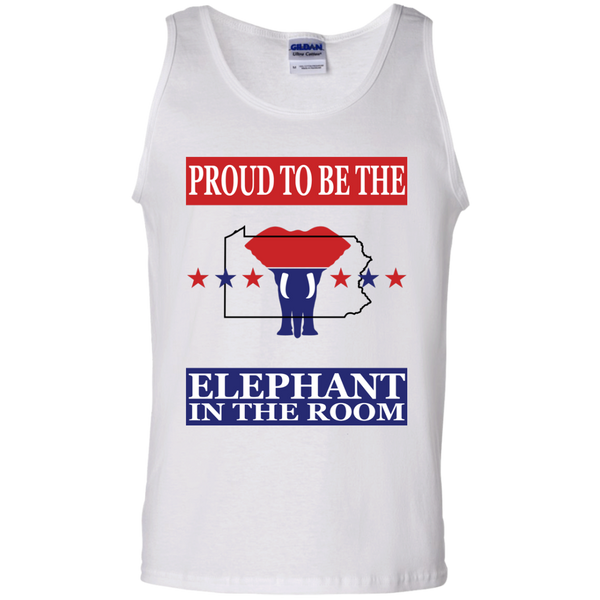 Pennsylvania PROUD Elephant Men's Tank