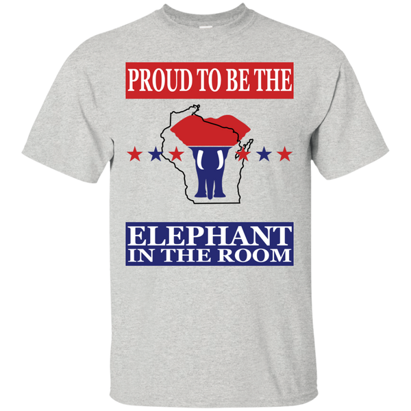 Wisconsin PROUD Elephant in the Room (Unisex) T-shirt