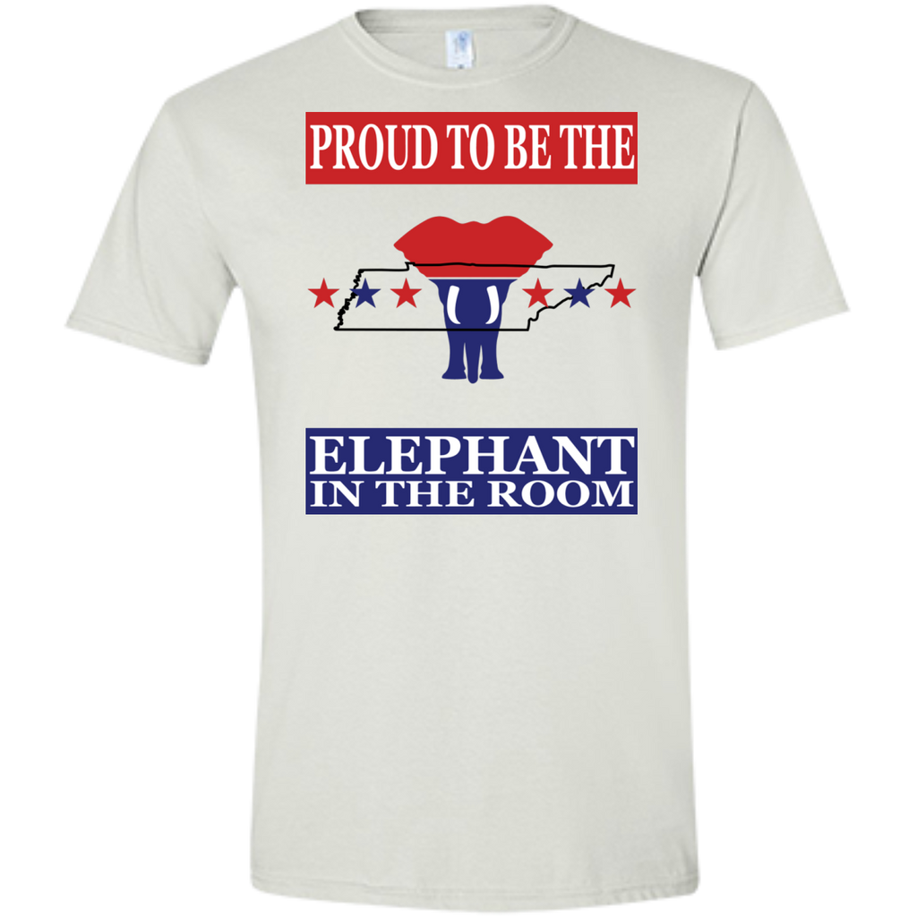 Tennessee PROUD Elephant in the Room (Fitted) Men's T-shirt
