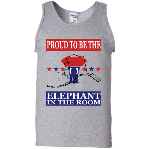 Alaska PROUD Elephant in the Room Men's Tank