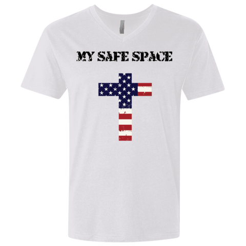 My Safe Space  Men's V-neck T-shirt