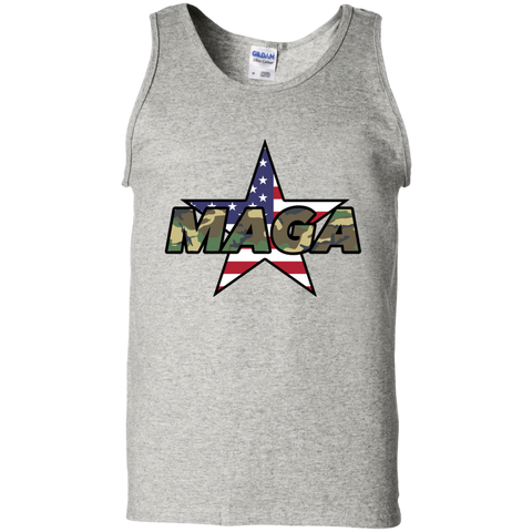 MAGA Camo-Forest Men's Tank