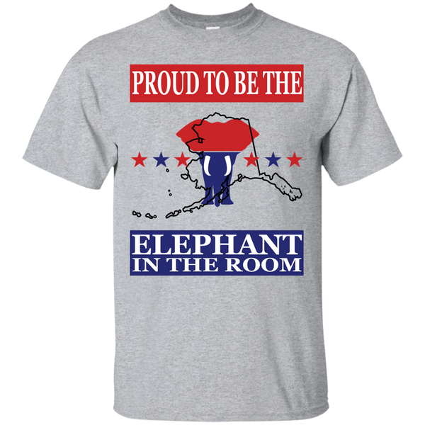 Alaska PROUD Elephant in the Room (Unisex) T-shirt