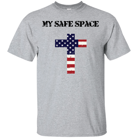 (Unisex) My Safe Space (Cross) Men's T-shirt