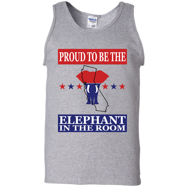 California PROUD Elephant in the Room Men's Tank