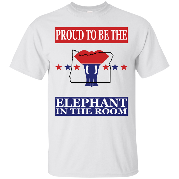 Oregon PROUD Elephant in the Room (Unisex) T-shirt