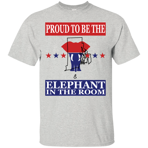 Rhode Island PROUD Elephant in the Room (Unisex) T-shirt