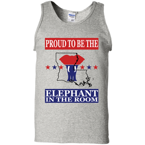 Louisiana PROUD Elephant in the Room Men's Tank