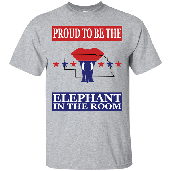 Nebraska PROUD Elephant in the Room (Unisex) T-shirt