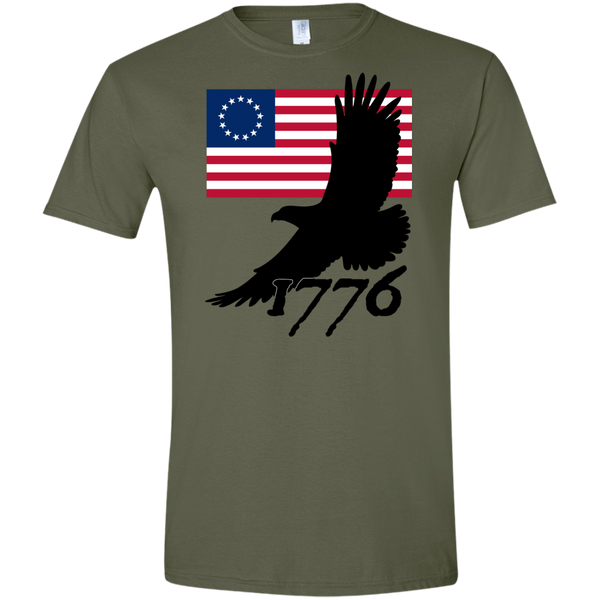 1776 (Fitted) Men's T-shirt