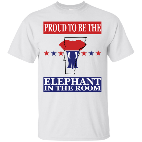 Vermont PROUD Elephant in the Room (Unisex) T-shirt