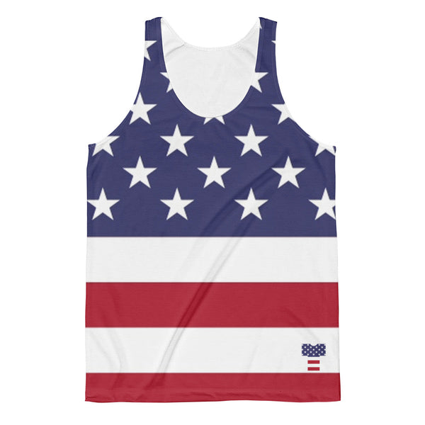 Stars and Stripes Logo Men's (Unisex) Tank