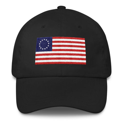 1776 USA Flag Classic Dad Hat